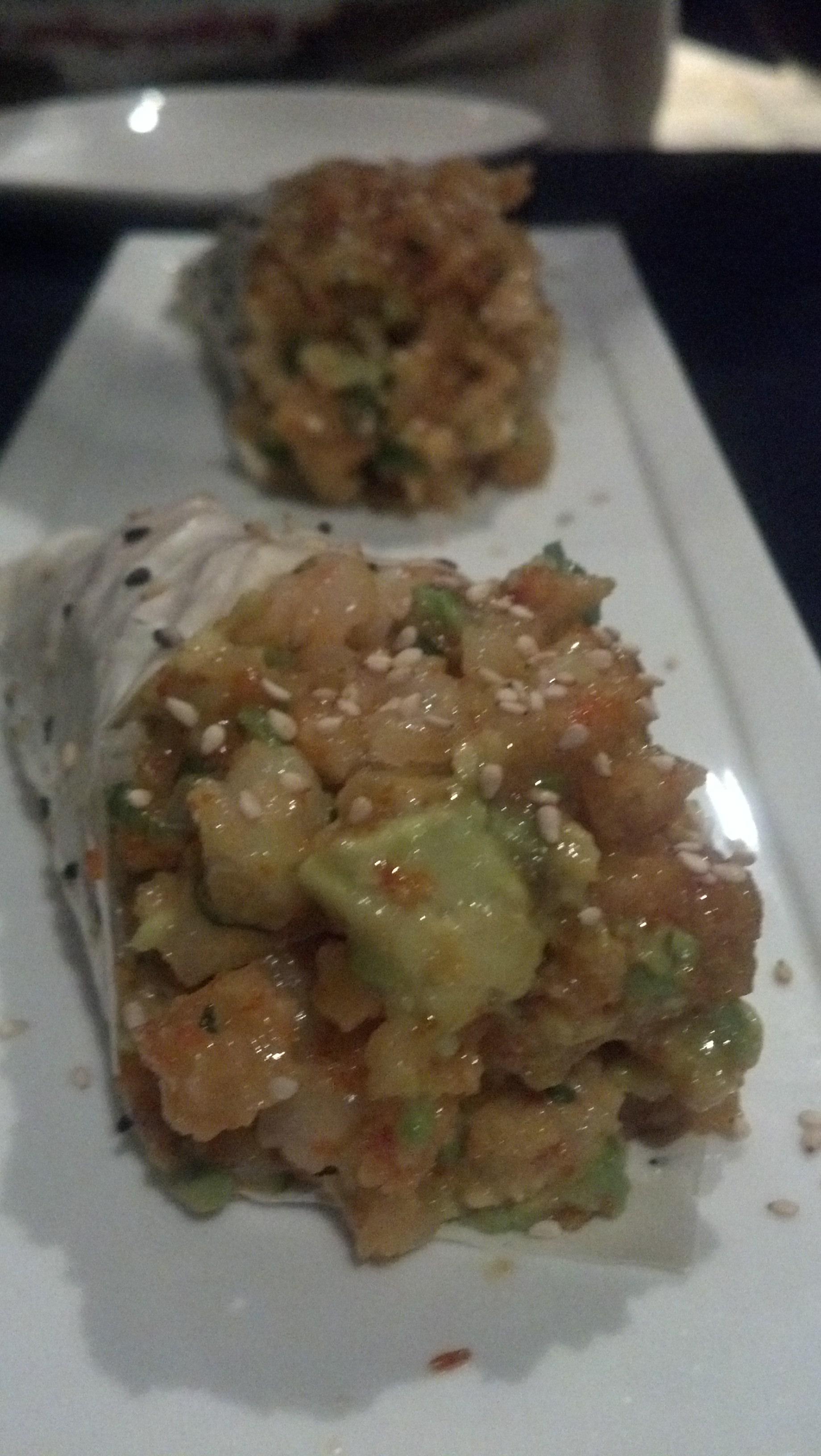 Popcorn Shrimp Temaki